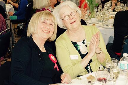 Diane Fry and Patricia Empsall, Ambassador for VWI